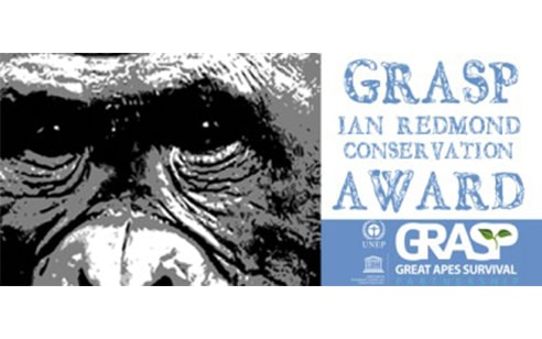 GRASP-Ian Redmond Award targets National Commitment to Ape Conservation